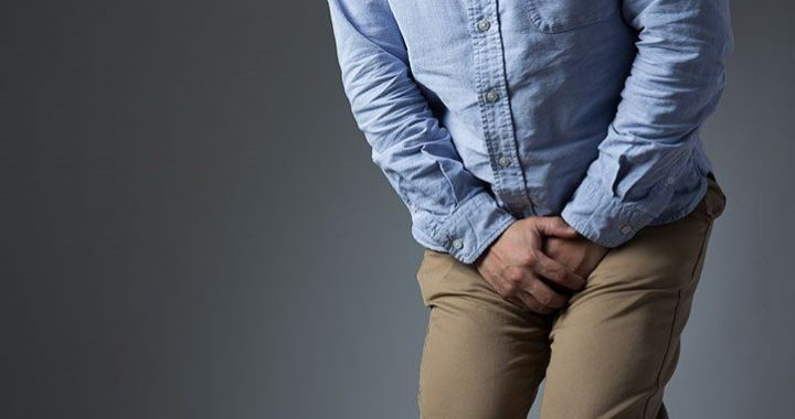 Bladder infection in men. The bladder is a storage place for urine and is located in the lower abdomen. The urine comes out through the urethra